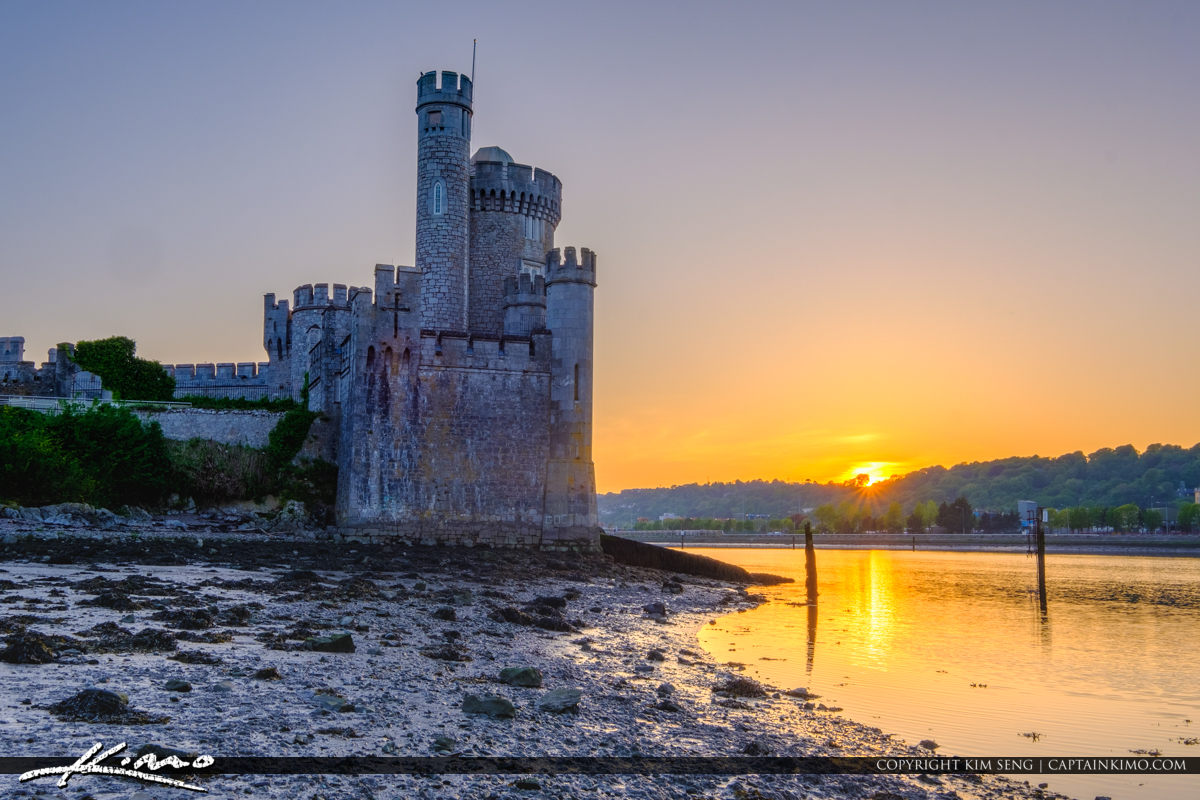Blackrock Castle Cork Ireland Down by the River Lee Sunset
