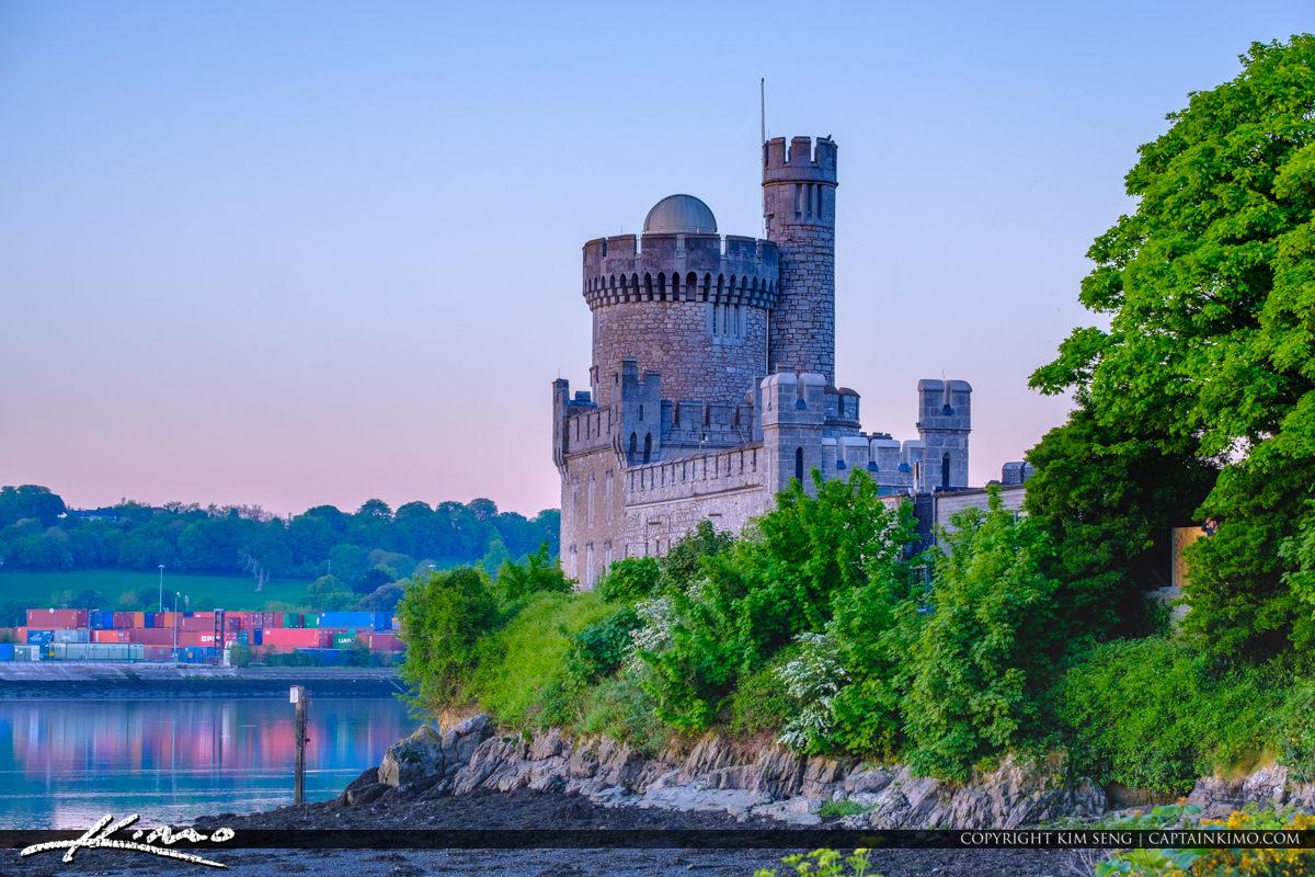 Blackrock Castle Cork Ireland View to the East
