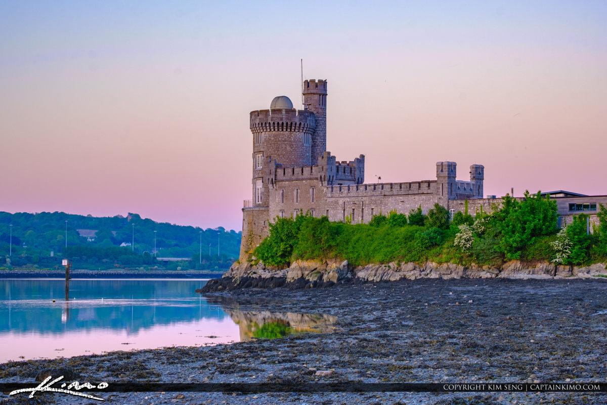 Blackrock Castle Cork Ireland Lowtide East View