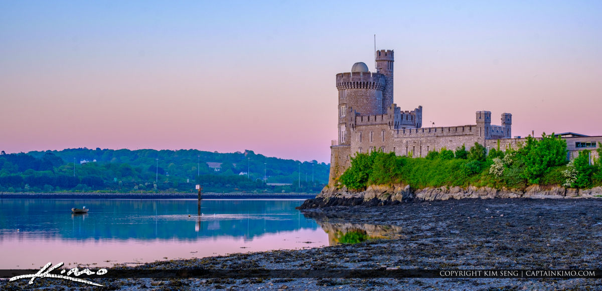 Blackrock Castle Cork Ireland River Lee Panoramic View