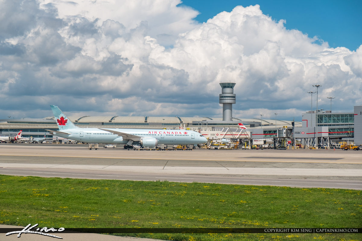 Toronto Pearson International Airport with Control Tower