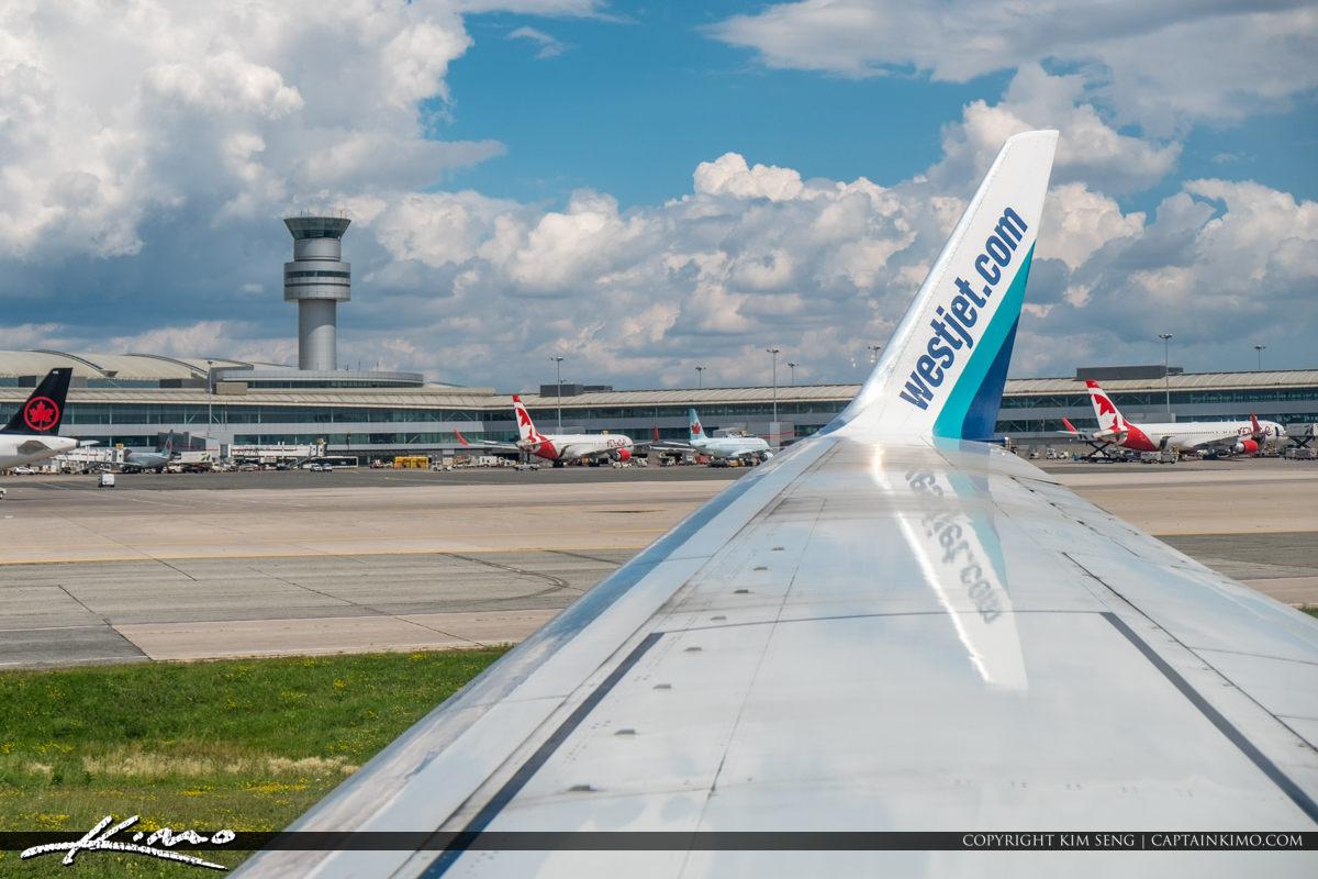 Toronto Pearson International Airport Blue Sky