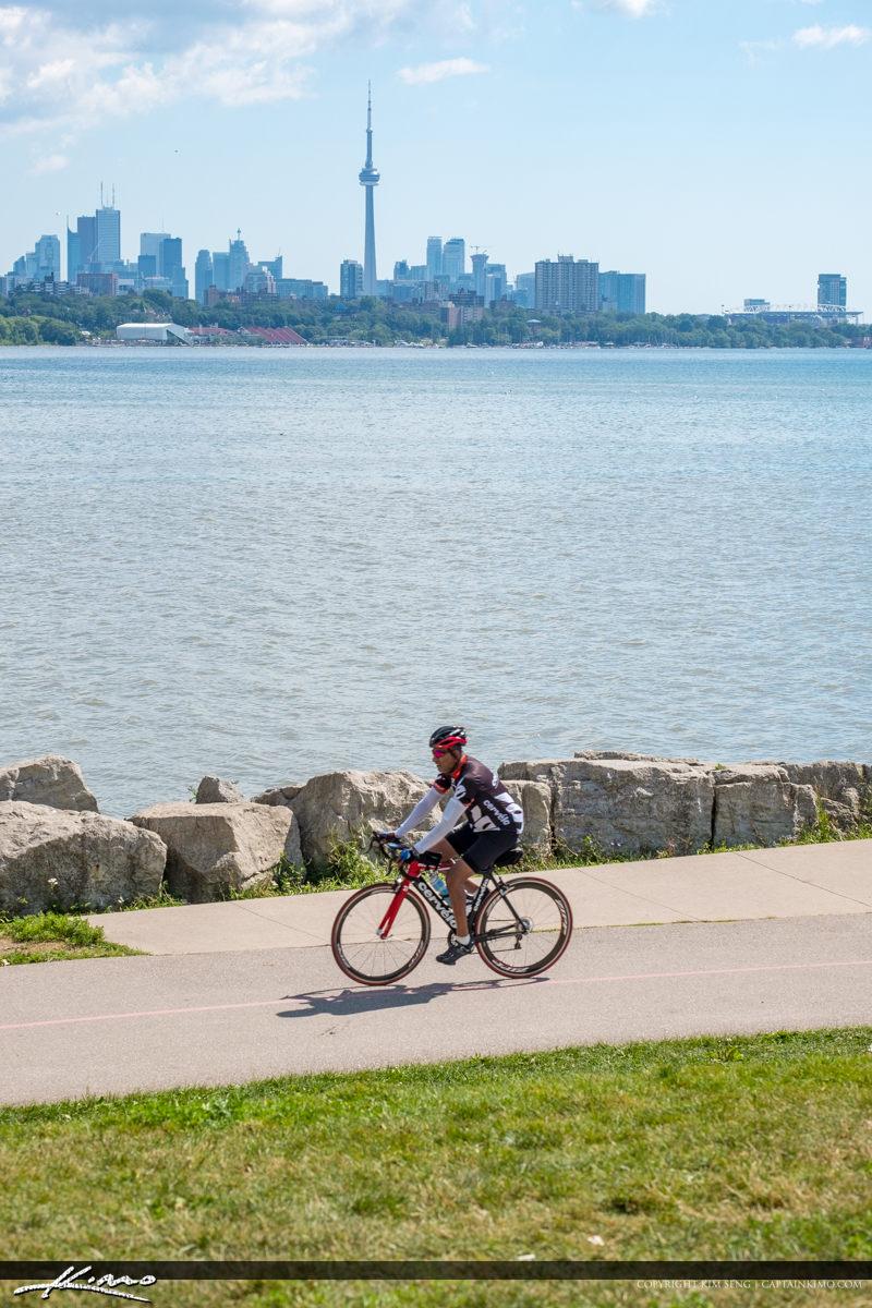 Bicycling Sheldon Lookout Ontario Canada Martin Goodman Trail