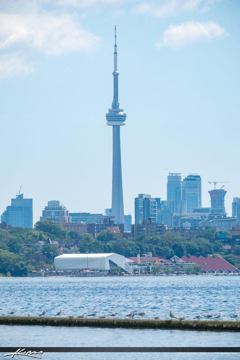 CN Tower Martin Goodman Trail Lake Ontario Canada
