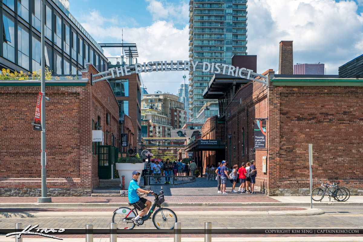 The Distillery District Toronto Canada Bicycle