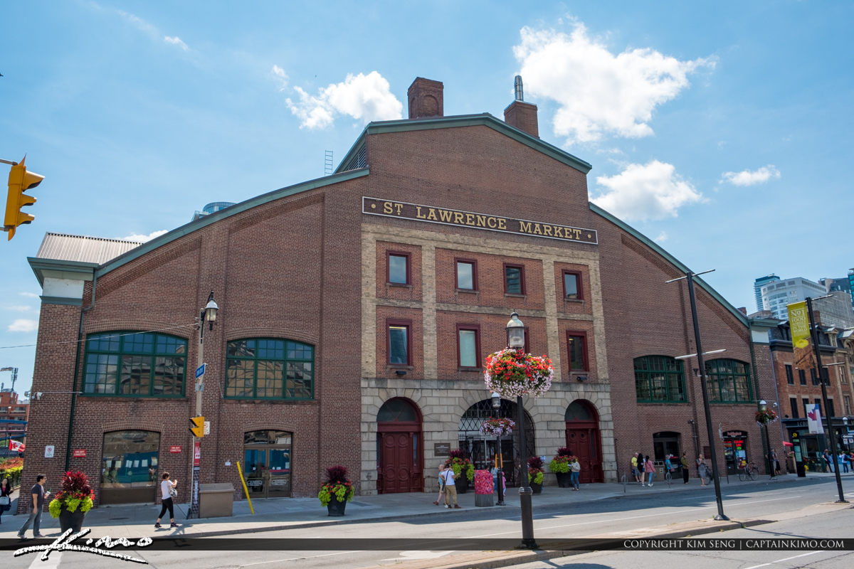 St Lawrence Market South Toronto Ontario Canada The Street Entra