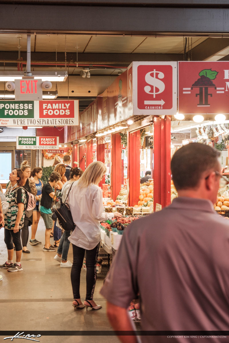 St Lawrence Market South Toronto Ontario Canada People Buying Fr