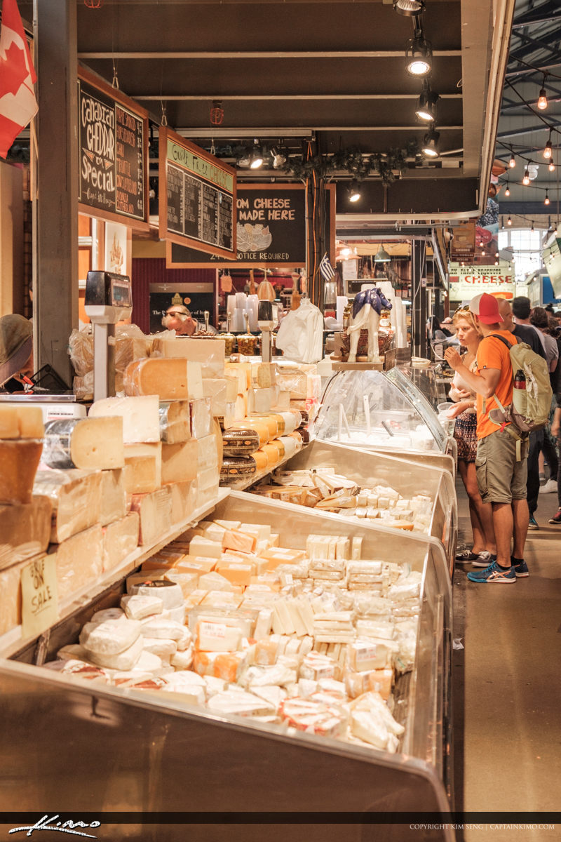 St Lawrence Market South Toronto Ontario Canada Cheese
