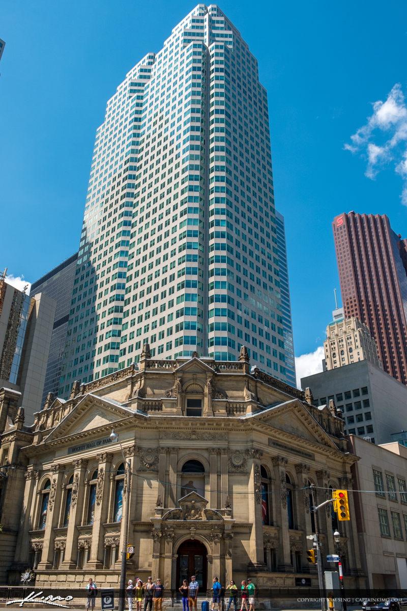 Hockey Hall of Fame Downtown Toronto ON Canada