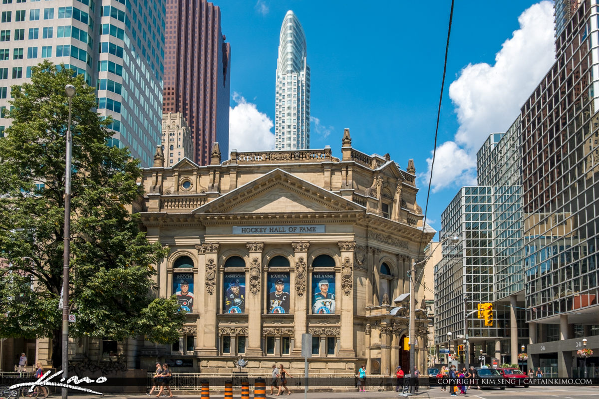 Hockey Hall of Fame Toronto Ontario Canada
