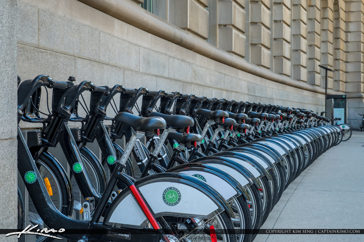Rental Bicycle Toronto ON Canada Close
