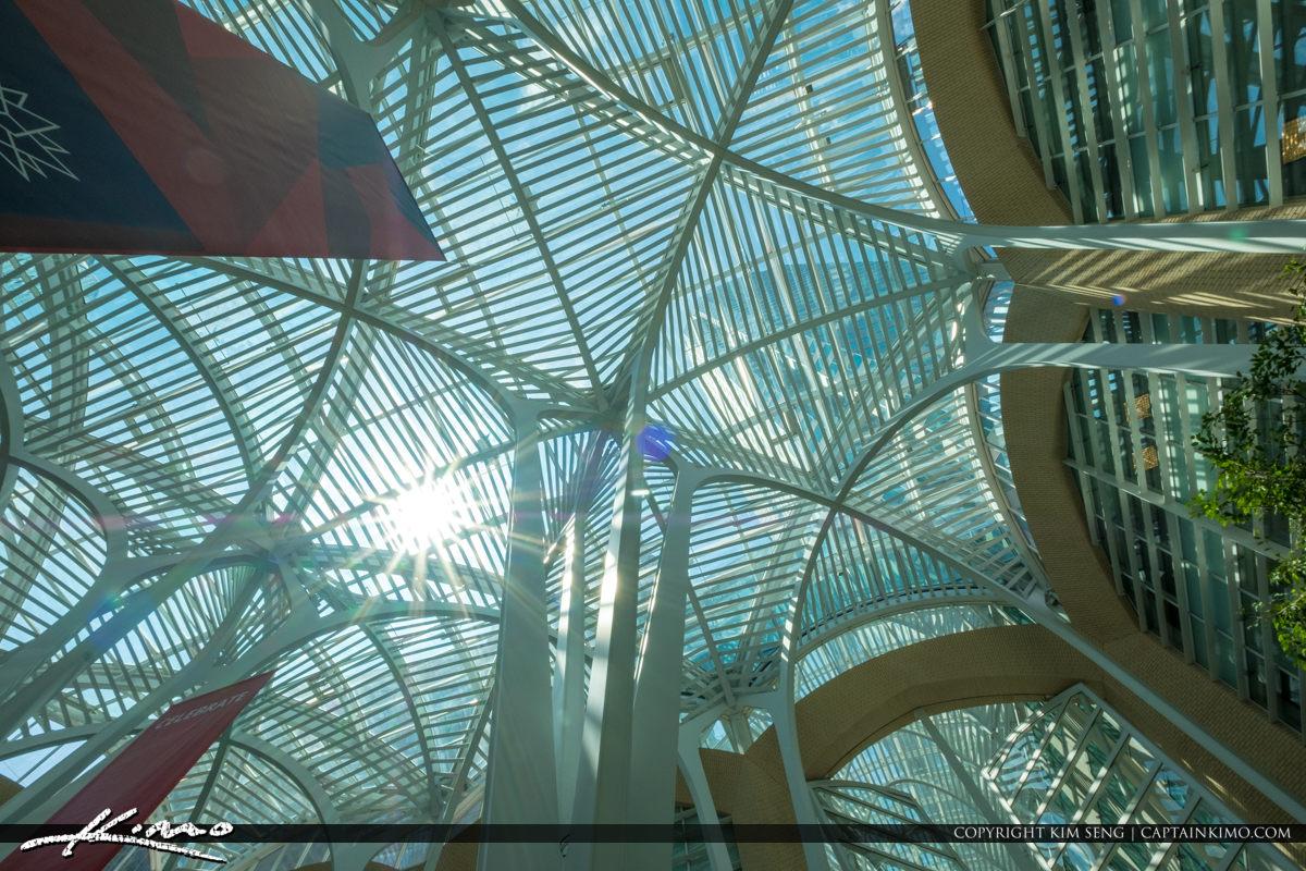 Toronto Eaton Centre Ontario Canada Ceiling