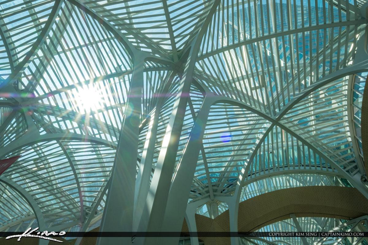 Toronto Eaton Centre Ontario Canada Sunlight Through Ceiling