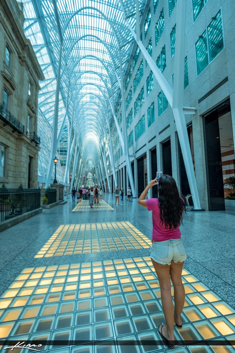 Toronto Eaton Centre Ontario Canada