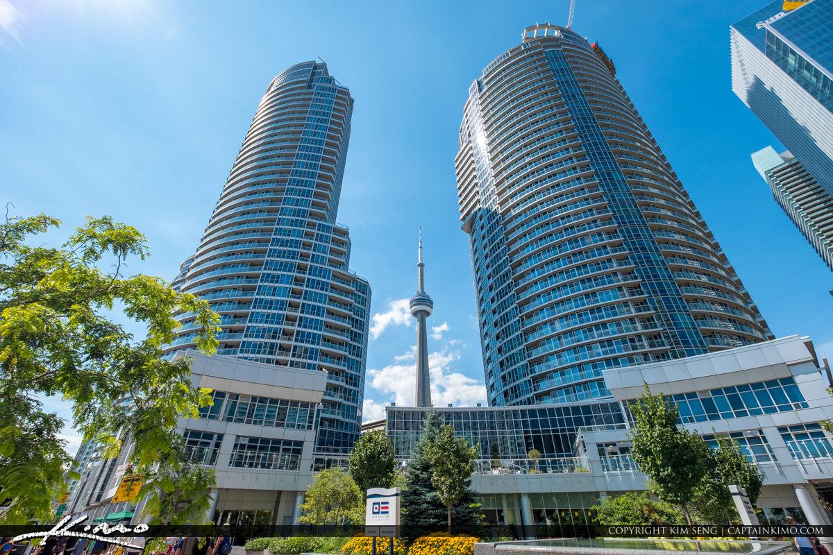 Building Downtown Toronto Canada