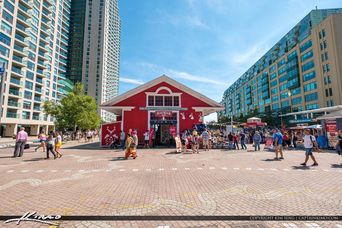 BeaverTails Pier 6 Toronto Canada Waterfront