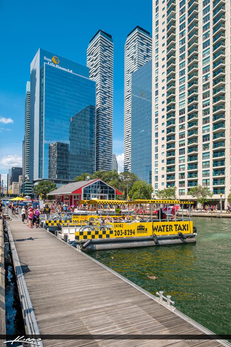 Waterfront Toronto Ontario Canada Water Taxi