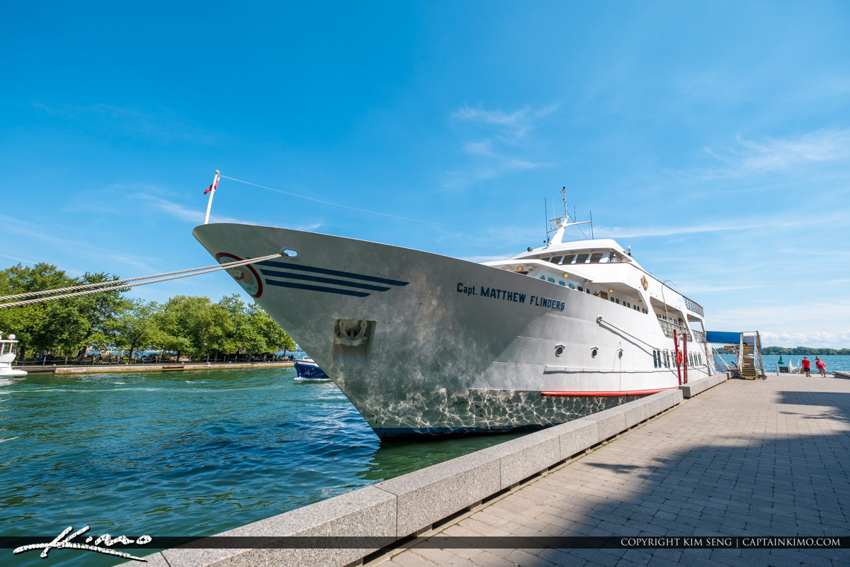 Waterfront Toronto Ontario Canada Boat Yacht