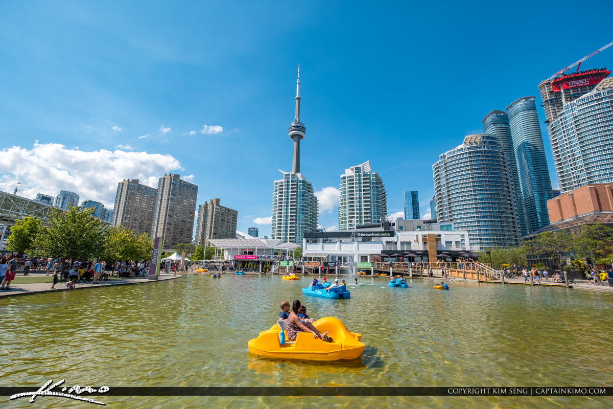 Waterfront Toronto Ontario Canada Harbour Front Centre