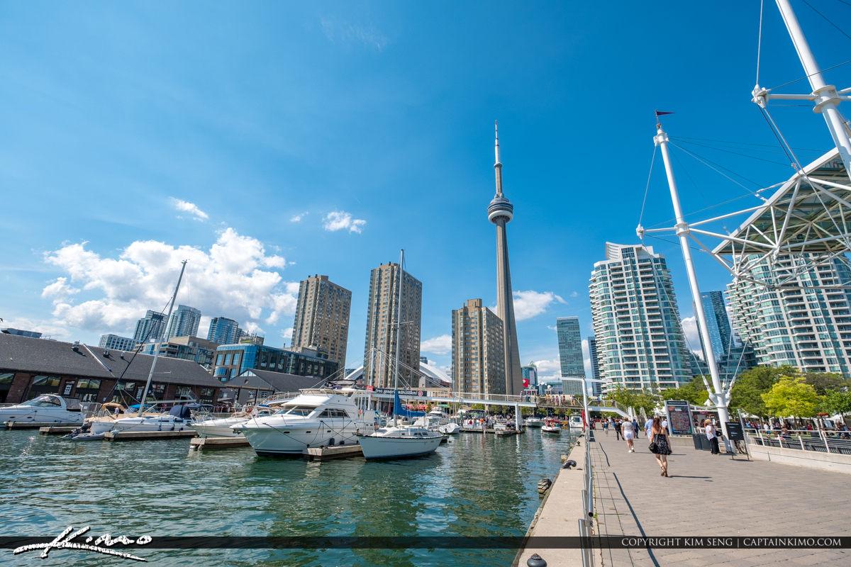 Waterfront Toronto Ontario Canada at the Marina