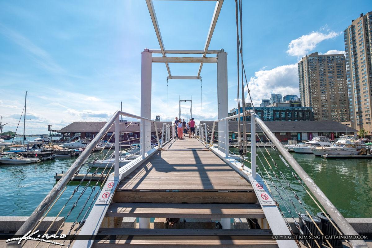 Waterfront Toronto Ontario Canada Marina at Bridge