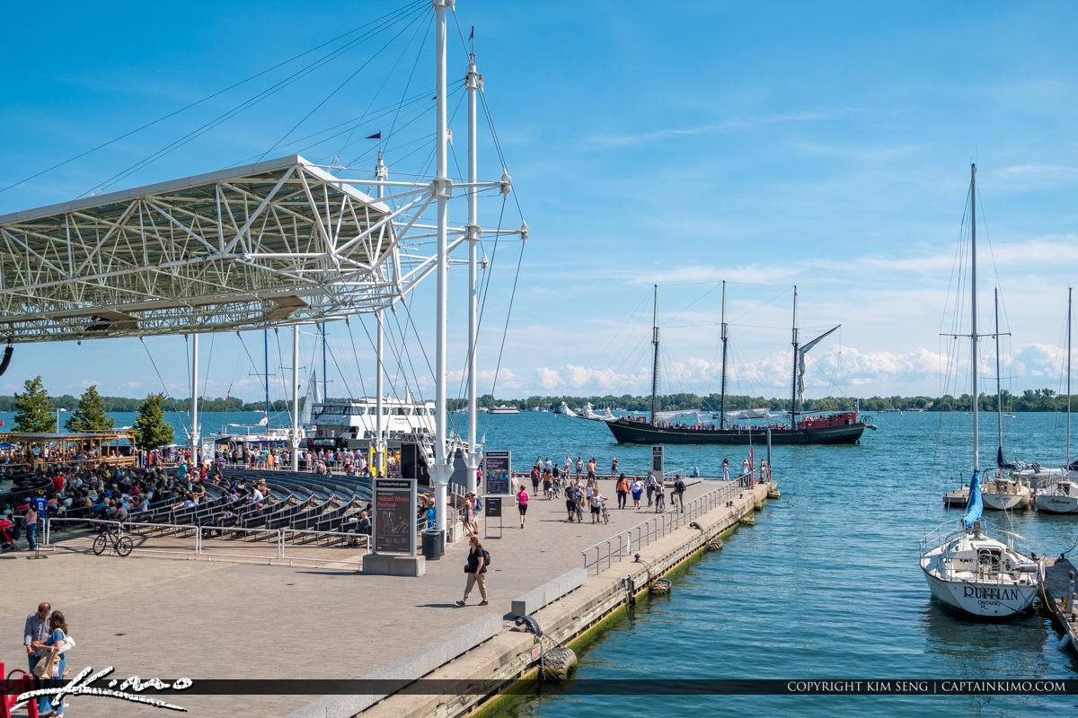 Waterfront Toronto Ontario Canada Boats