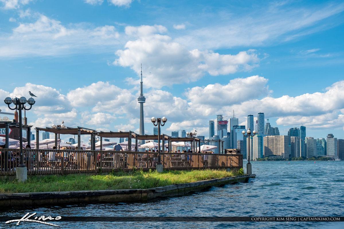 Skyline View Centre Island Toronto Ontario Canada