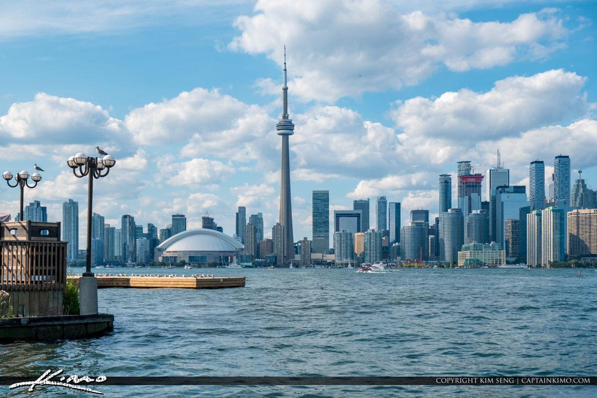 Skyline View from Centre Island Toronto Ontario Canada