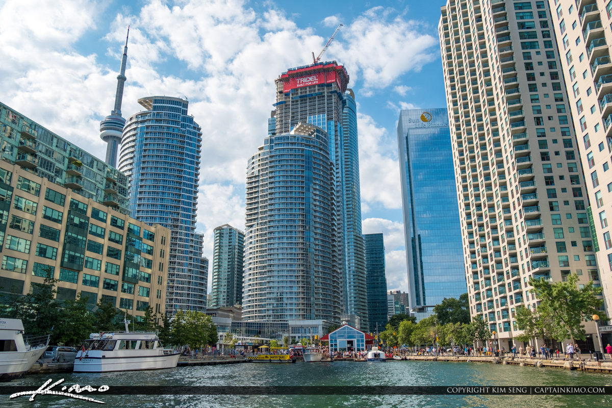 Water Taxi Centre Island Toronto Ontario Canada