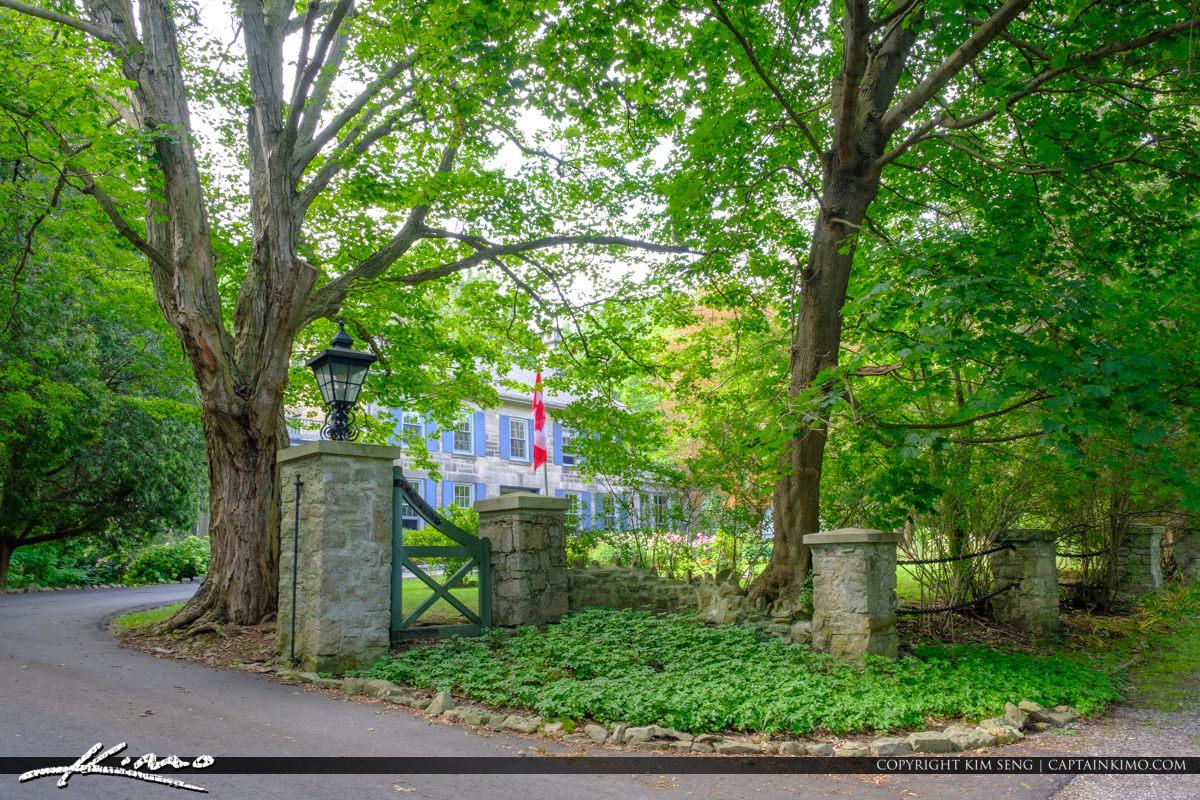 House at Websters Falls Hamilton Ontario Canada