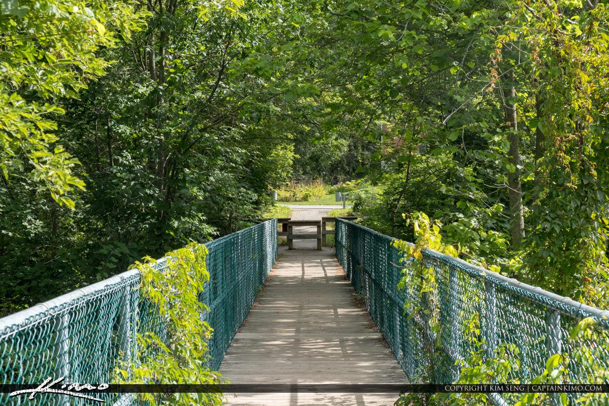Bridge to Websters Falls Hamilton Ontario Canada