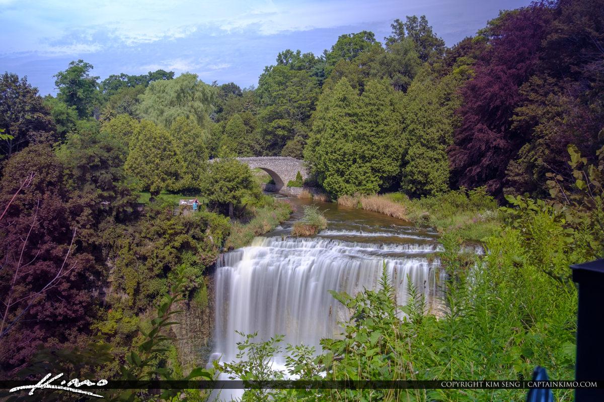 Smooth Waterfall Websters Falls Hamilton Ontario Canada