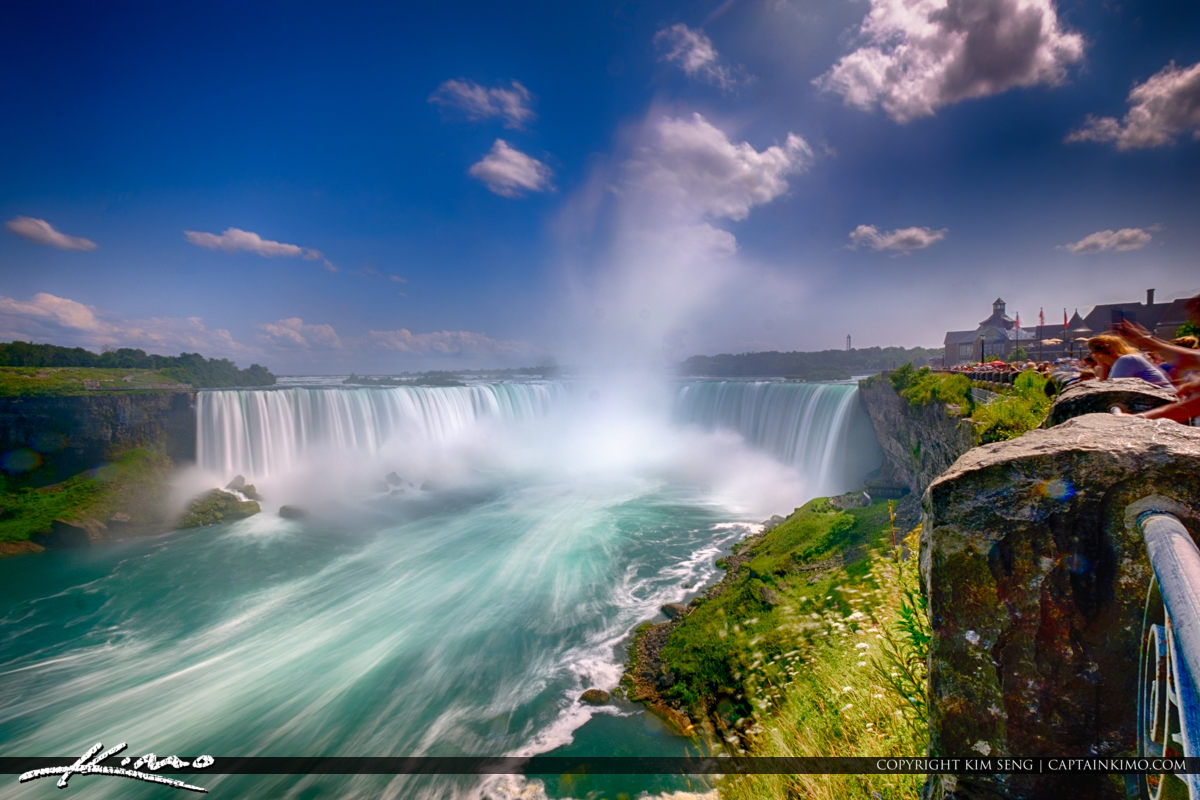 Niagara Falls ON Canada Long Exposure