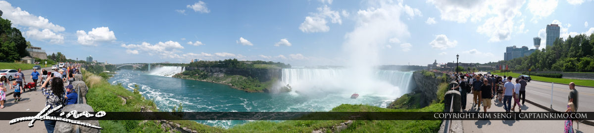 Super Wide Pano Niagara Falls ON Canada