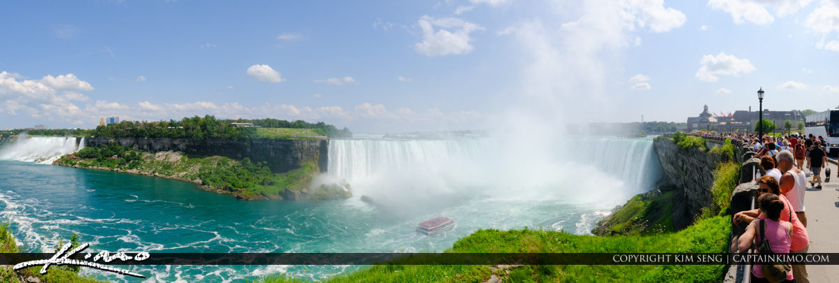 Horseshoe Falls Pano Niagara Falls ON Canada