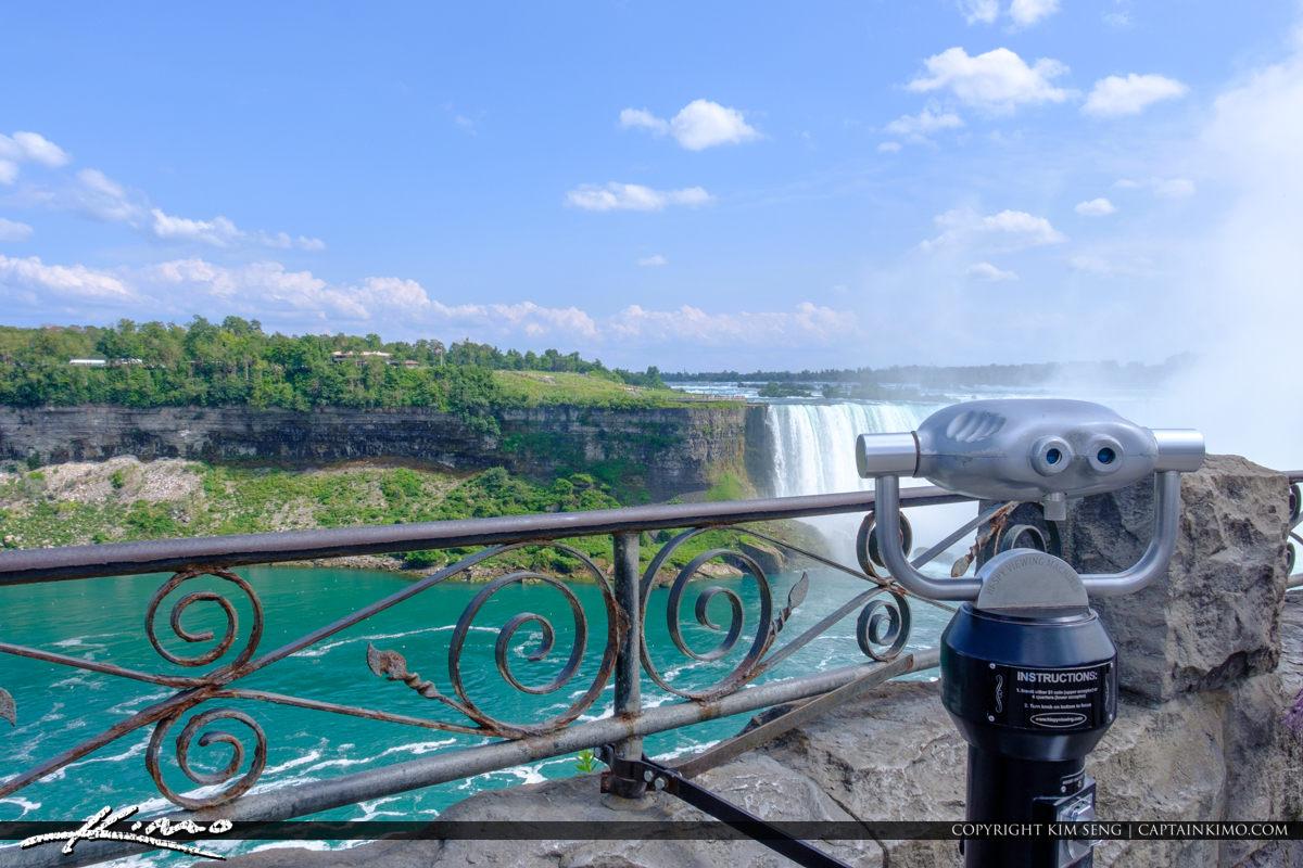Looking Glass Waterfall Niagara Falls ON Canada