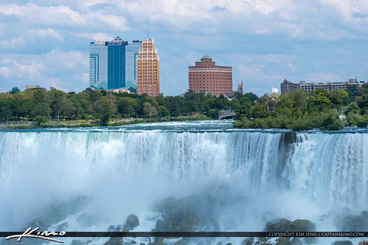 American Falls from Niagara Falls