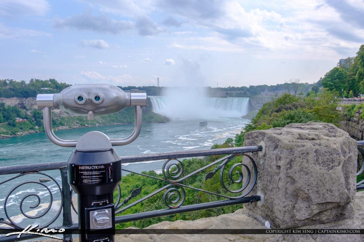 Looking Glass Horseshoe Falls Niagara Falls ON Canada