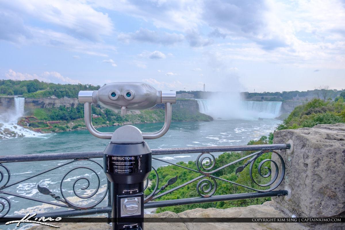 Gorgeous View at Horseshoe Falls Niagara Falls ON Canada