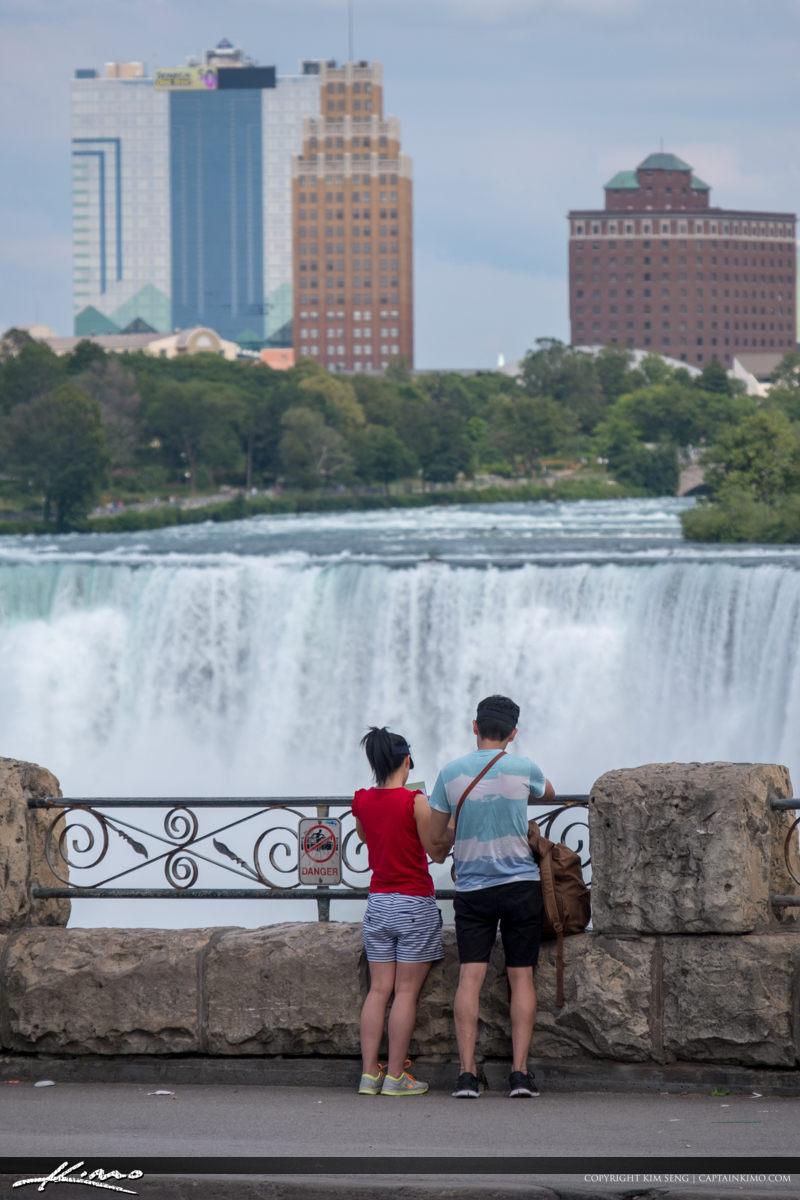 Niagara Falls ON Canada Couples at American Falls