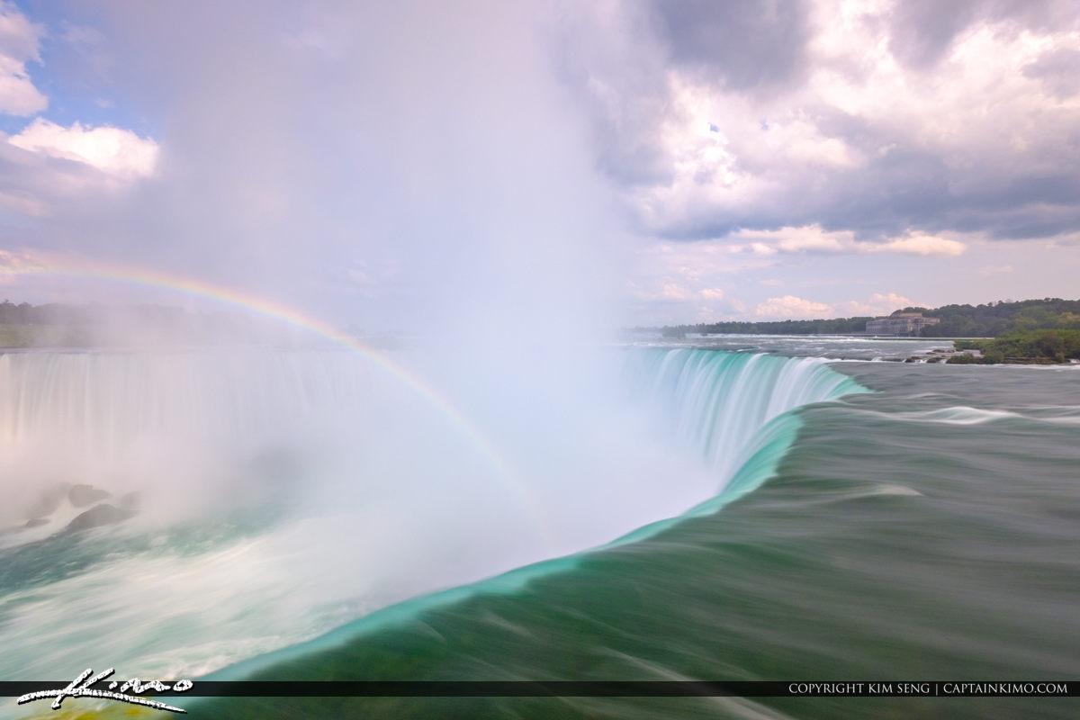 Niagara Falls ON Canada Rainbow Long Exposures