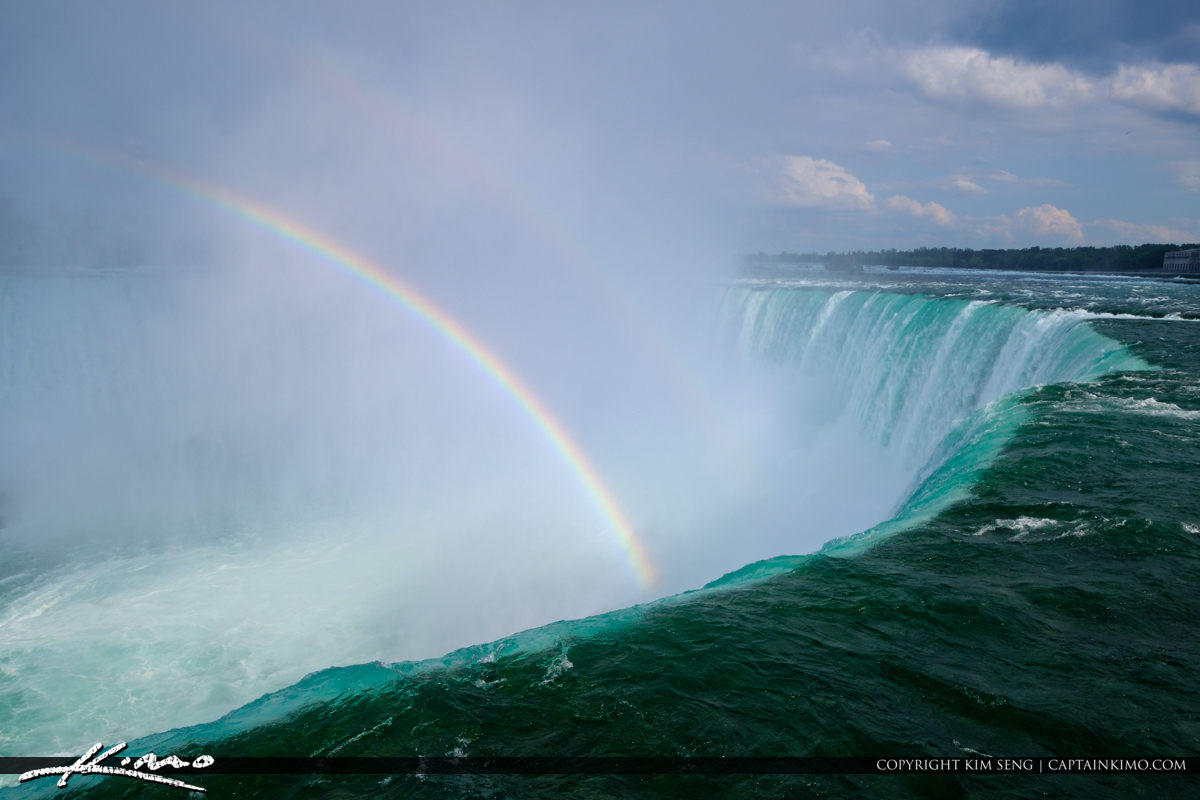 Double Rainbow Niagara Falls ON Canada