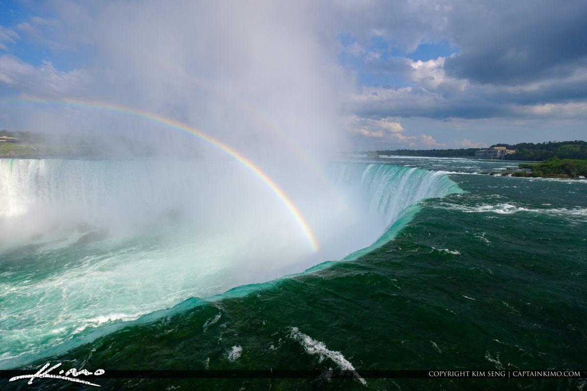 Broght Double Rainbow Niagara Falls ON Canada