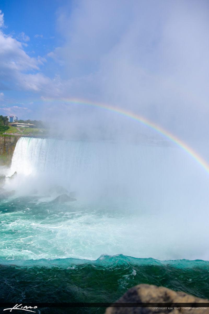 Niagara Falls ON Canada Rainbow Vertical