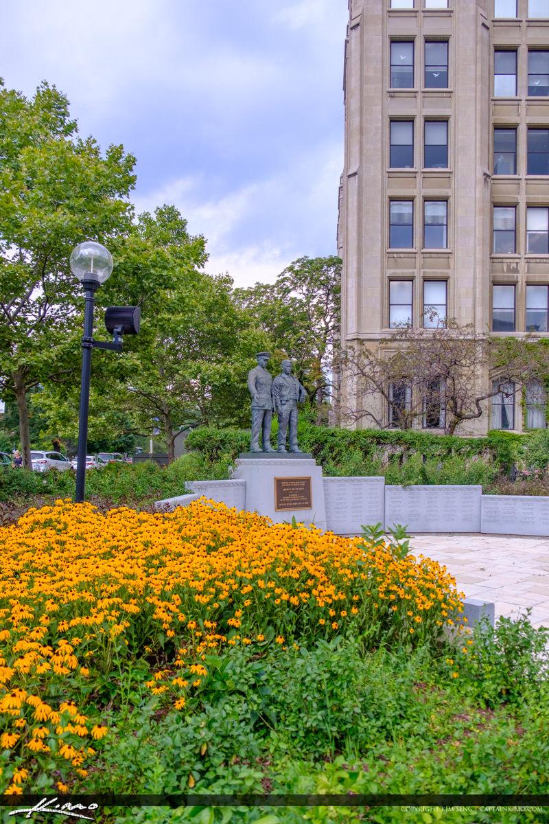Ontario Police Memorial Park Yellow Flowers