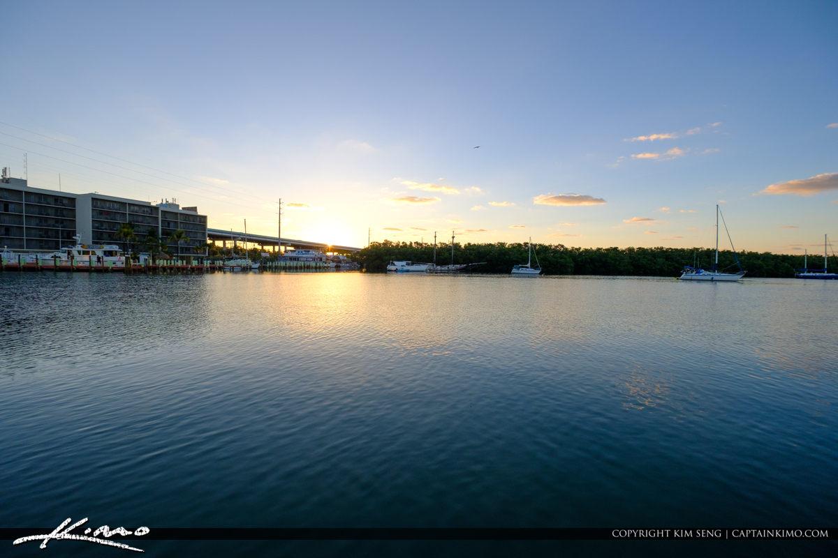 Sunrise Jewfish Creek Gilberts Resort Key Largo Florida Keys