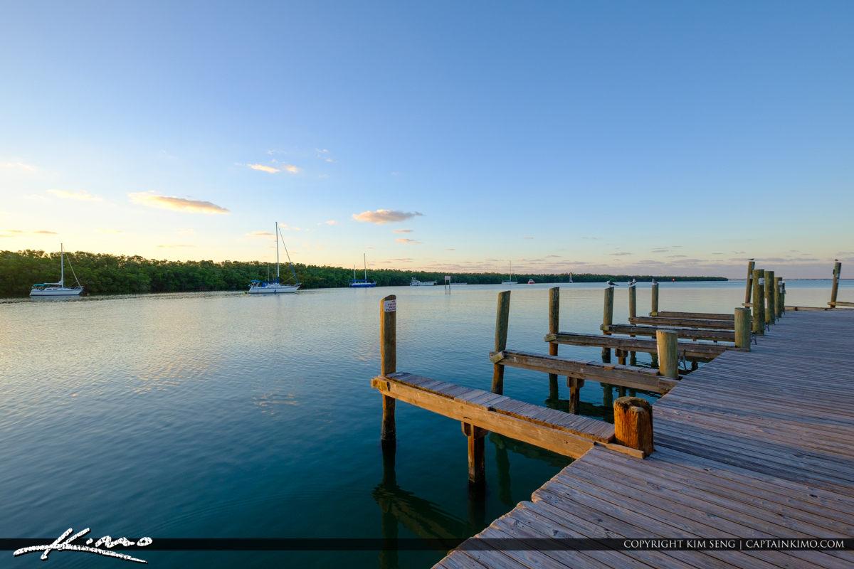 Jewfish Boat Dock Gilberts Resort Key Largo Florida Keys