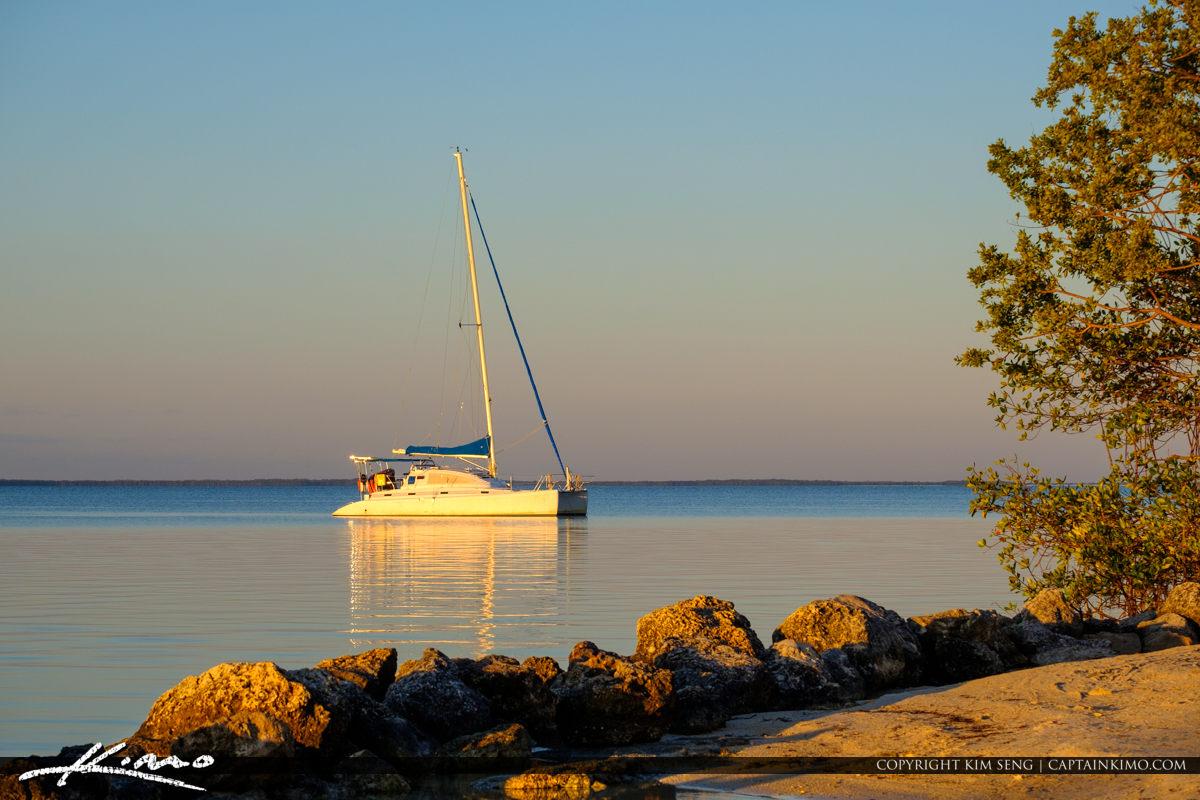 Sailboats at Keys Gilberts Resort Key Largo Florida Keys