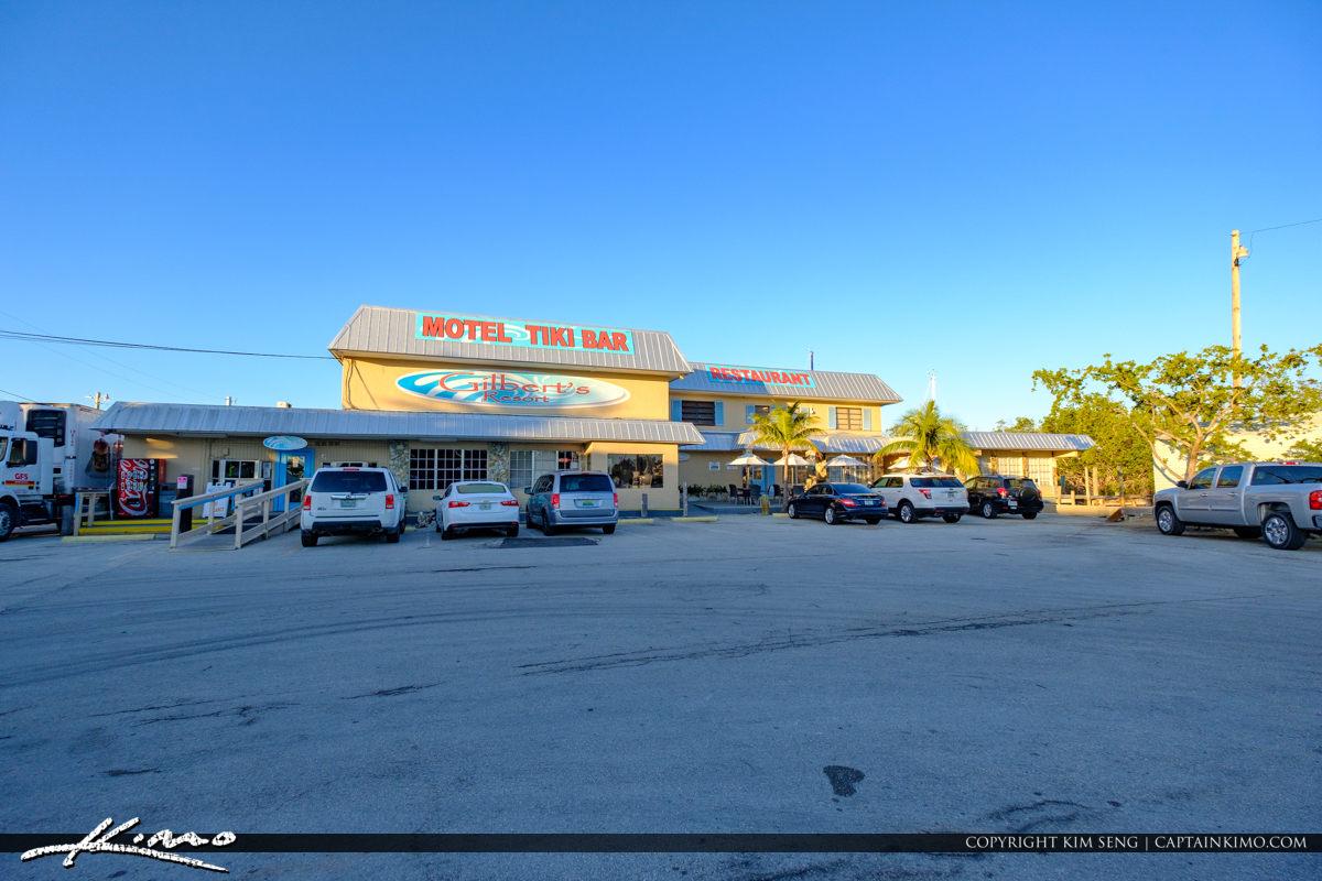 Motel Tiki Bar Gilberts Resort Key Largo Florida Keys