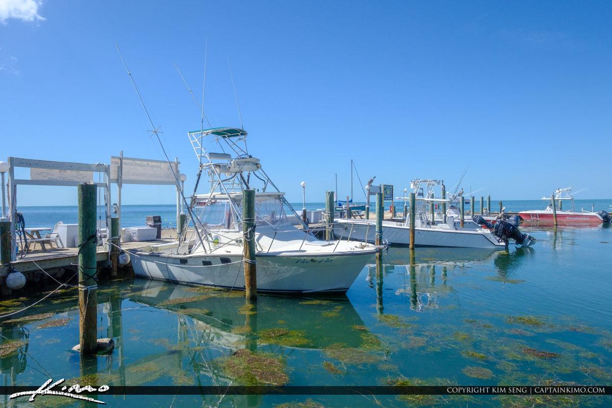 Boat Dock Keys Fisheries Marathon Florida Keys